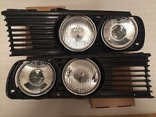 NEW BMW E30 EURO headlights with grilles