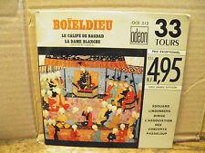 Boïeldieu - le calife de bagdad / La dame blanche disque Odéon OCE 512