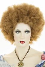 Strawberry Blonde Red Medium Curly Costume Fun Color Wigs