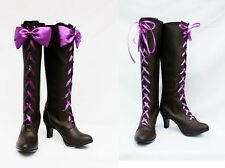 Black Butler II Alois Trancy Cosplay Boots shoes  Ciel Phantomhive shoe boot