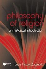 The Philosophy of Religion: An Historical Introduction