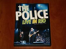 THE POLICE STING LIVE IN RIO BRAZIL TOUR MARACANA STADIUM CONCERT 2007 DVD New