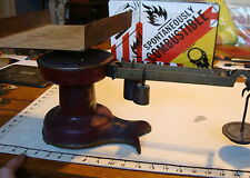 Vintage Antique Howe Red Fishtail Store Counter Scale #5072 INDUSTRIAL,from BUK