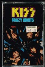 Kiss Cassette Tape Crazy Nights U.S.A. New Sealed