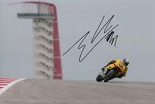 Alex Rins Hand Signed Paginas Amarillas HP 40 Kalex 12x8 Photo 2015 Moto2 5.