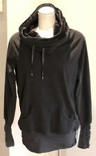 Lululemon Don't Hurry Be Happy Hoodie Black Size 8 NWT!! Rare!