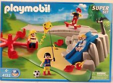 "Playmobil 4132 Playground Super Set, Kite Flying, Skate Boarding   ""NEW""  MISB"