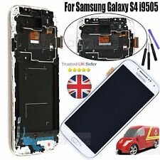 For Samsung Galaxy S4 i9505 LCD Digitizer Touch Screen Display Assembly White UK