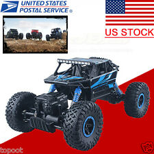 1/18 2.4GHZ 4WD Radio Control RC Rock Crawler 4WD Monster Car Truck Off-Road,US