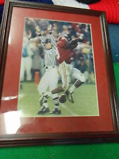 Vintage ALABAMA CRIMSON TIDE Print Terry Grant Scoring TD in 2007...........SALE