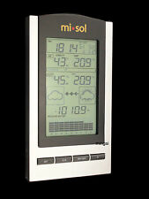 wireless Weather Station with Outdoor Temperature and humidity sensor Barometer
