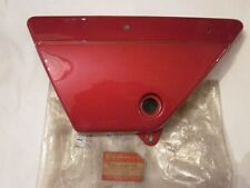 Suzuki GP100 Red Left Hand Side Cover NOS GP100              47211-39100-00J