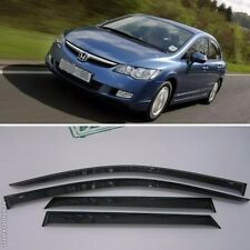 For Honda Civic 8 Sd 2006-2011 Window Visors Side Sun Rain Guard Vent Deflectors