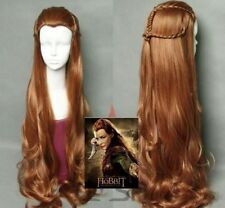 The Hobbit / The Lord of the Rings Elf Tauriel Cosplay Wig Golden Brown Hair