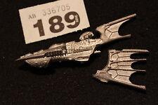 Games Workshop Battlefleet Gothic Eldar Eclipse Class Metal Unpainted Mint OOP