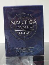 Nautica Voyage N-83 for Men 3.4oz/100ml EDT Spray **NEW IN BOX & SEALED