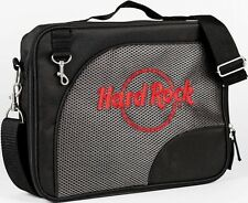 Hard Rock Cafe PIN TRADING Storage BAG Black w/Red HRC Logo NEW 5 2-Sided Pages+