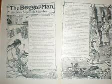 Illustrated poem Dora Sigerson Shorter Beggar-man 1904