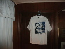 Timberland t-shirt short sleeve white with 4 part tree size small brand new