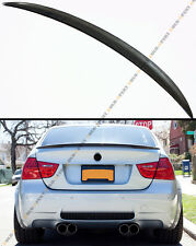 HIGHKICK STYLE CARBON FIBER TRUNK SPOILER DUCK LID FOR E90 328i 330i 335i SEDAN