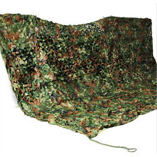 Durable Woodland Camouflage Camo Net With Drawstring Sack For Camping Outdoor