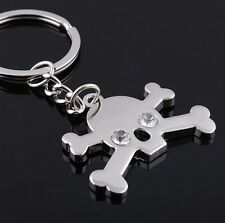 New Design Silver Metal One Piece Keychain Keyrings Creative Gift Collection
