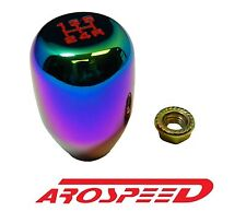 NEOCHROME BILLET TYPE-R STYLE RACING SHIFT KNOB FOR 92-00 SUBARU IMPREZA 5SP