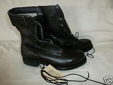 Military Leather Duty Combat Flyers Boots Speed Lace New 7.5E Wide Made USA