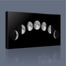 PHASES OF THE MOON WONDERFULLY FORMED CELESTIAL CANVAS PRINT PICTURE ArtWilliams