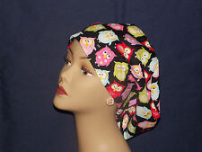 Surgical Scrub Hat Cap Smaller Bouffant Medical Women Ladies European Handmade