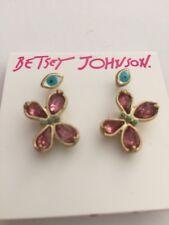 $28 Betsey Johnson Boho Eye Butterfly Earrings BJ 406