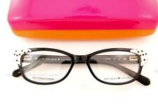 Brand New Kate Spade Eyeglass Frames ALEASE Color X55 BLACK/WHITE