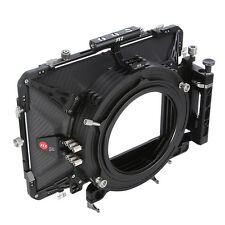 "JTZ DP30 Carbon Fiber 5.65""x5.65"" Matte Box Kohlefaser 15mm 19mm For RED ARRI A7"