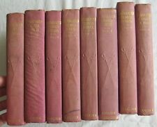Celebrated Crimes Alexandre Dumas 8 Volumes PF Collier 1910