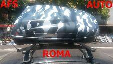 BOX AUTO PORTAPACCHI MIMETICO HELIOS 400+BARRE ALFA ROMEO ANNO 2007 159 BERLINA