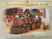 REDUCED 75%    Grandeur Noel 2002 Christmas Locomotive Train Engine Collectible