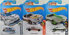2016 Hot Wheels: ZAMAC '12 Fiesta '77 FIREBIRD Corvette STINGRAY - 3 Car LOT Set