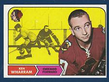 KEN WHARREM 68-69 TOPPS 1968-69 NO 22 NRMINT++2