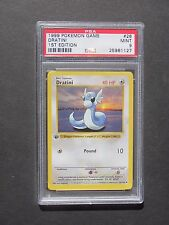 Pokemon PSA 9 1ST EDITION DRATINI 26/102 - Base Set - MINT