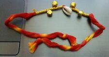 Amulet Lucky Hindu Mauli dangling bells Kaudi Conch shankh Protection Talisman
