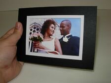 5x7 talking photo frame greeting card recordable sound plays music talking auto