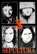 "SEPULTURA POSTER ""FACES"""