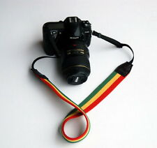 Tricolor Red Yellow Green  DSLR Camera Neck Strap For Nikon D5100 D7000 D90 #12