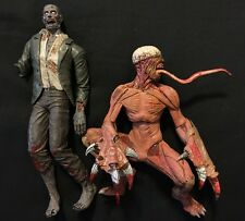 Resident Evil 10th Anniversary NECA Licker & zombie Figures loose HTF rare