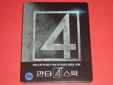 Fantastic Four 1/4 Slip Blu-Ray Steelbook Limited Extremely Rare from Korea