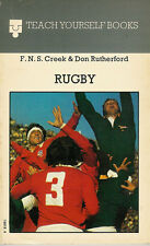 Teach Yourself Rugby Football  by Creek & Don Rutherford 1975 1st p'back edition