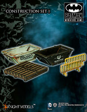Batman Miniature Game MDF Terrain & Scenery Construction Set 1 Free UK P&P