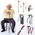 Aluminum Metal Walking Stick Adjustable Folding Fold/up Collapsible Travel Cane