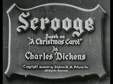 SCROOGE, 1935, classic SEYMOUR HICKS as the best ever Ebenezer: DVD-R: Region 2