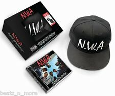 N.W.A. STRAIGHT OUTTA COMPTON LIMITED EDITION CD & SNAPBACK HAT DR DRE NWA